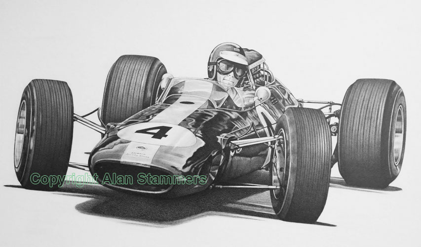 Jim Clark Anniversary Original  For Sale