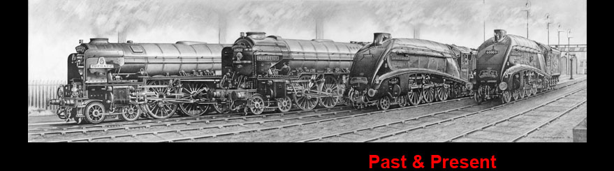 Steam Trains - Past & Present - Limited Edition Prints For Sale